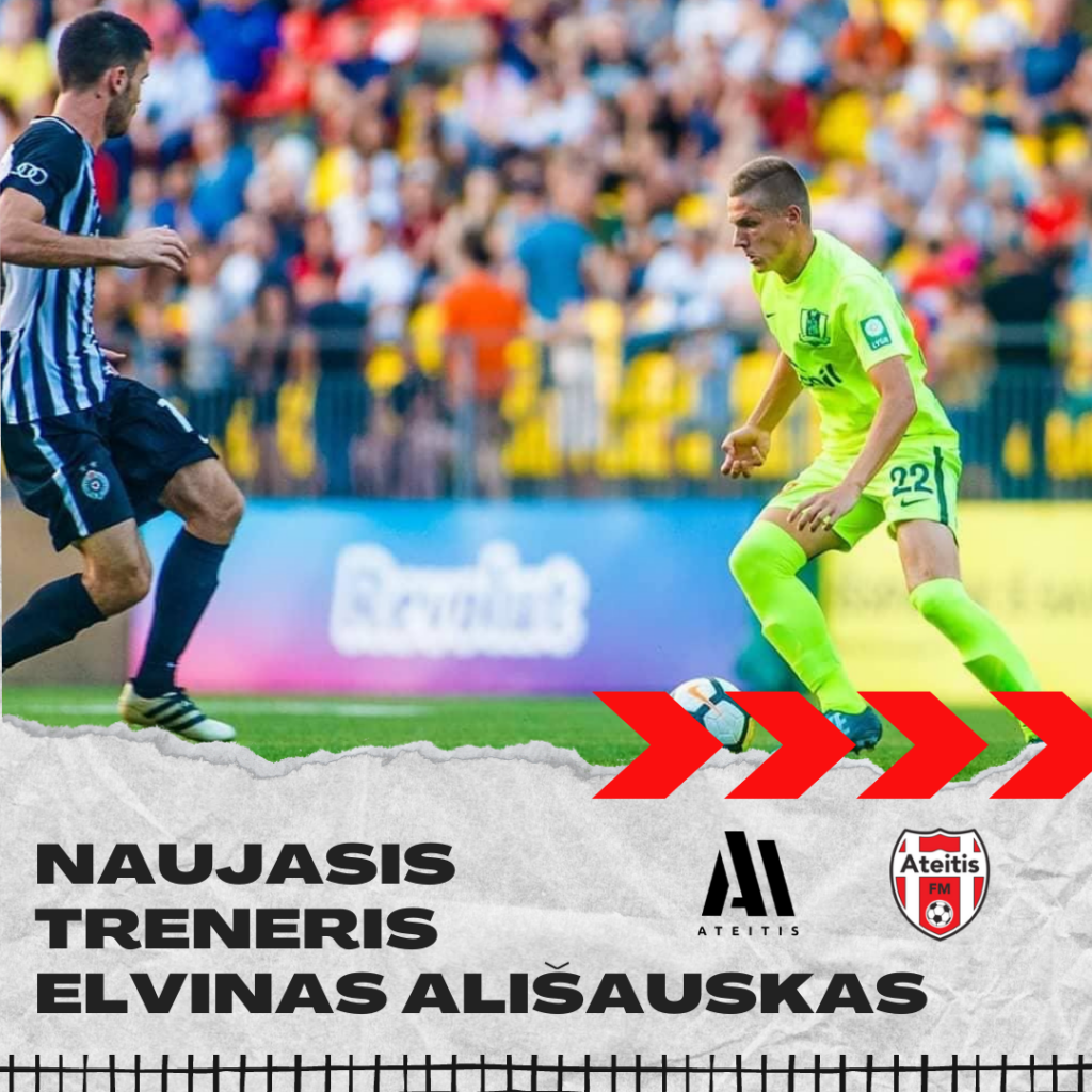 Naujasis treneris - Elvinas Ališauskas